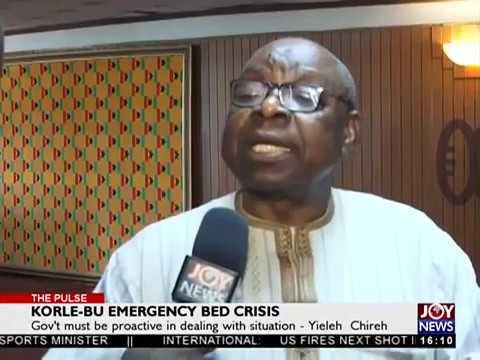 Korle-Bu Emergency Bed Crisis - The Pulse on JoyNews (11-7-18)