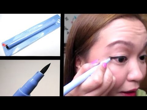 San San Waterproof Eyeliner Pen First Impression Review