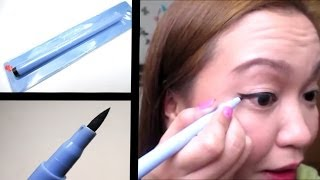 San San Waterproof Eyeliner Pen First Impression Review