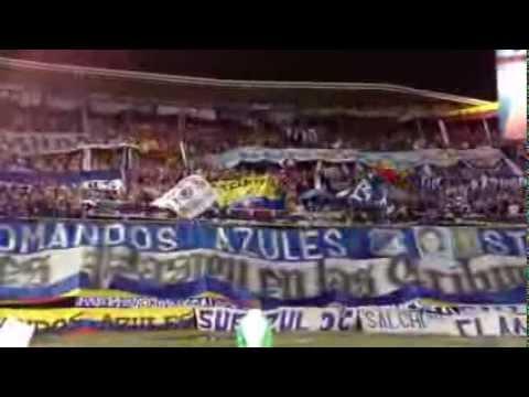 """SE DICTAN CLASES DE COMO ALENTAR A UN EQUIPO DE  FÚTBO COMANDOS AZULES DC"" Barra: Comandos Azules • Club: Millonarios • País: Colombia"
