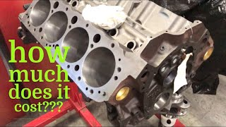 Cost To Build A Small Block Chevy???