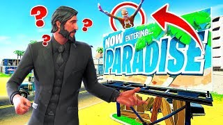 *NEW* HIDE & SEEK in Paradise Palms - FORTNITE PLAYGROUND V2 Custom Game