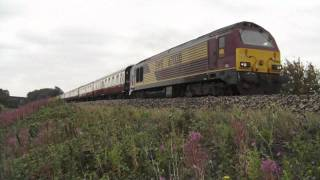 preview picture of video '67020 'The Churnet Valley & Moorland & City Railways' 30.07.2011'