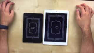 iPad Mini 4 VS iPad Air 2: SpeedTest | AppleNaYouTube