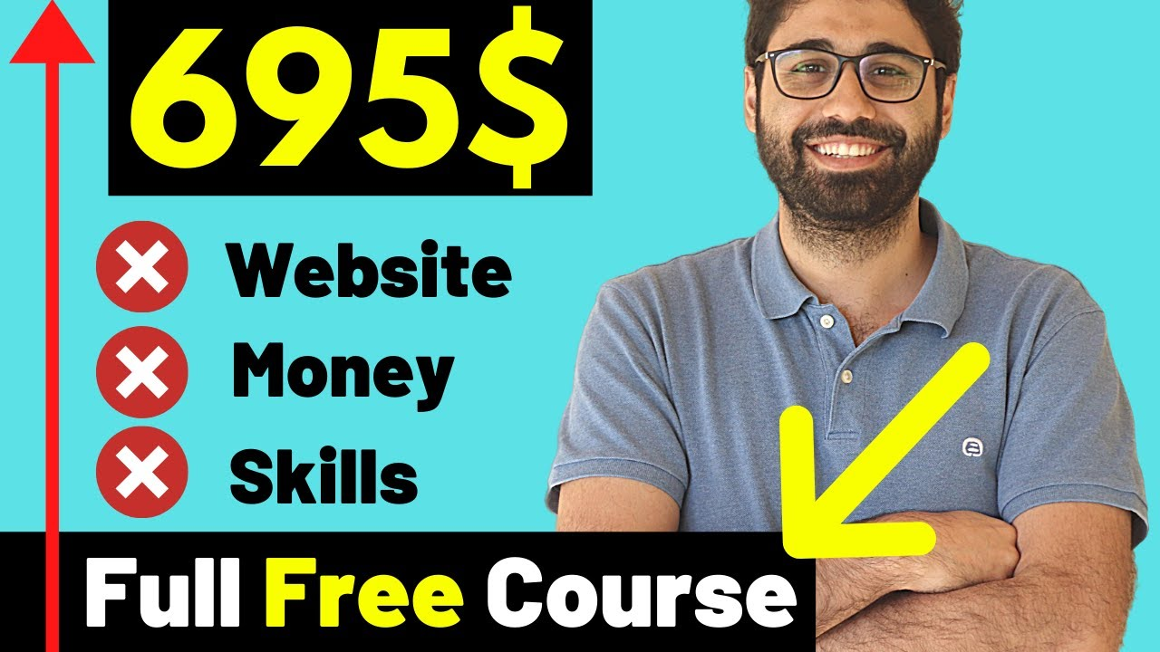 How To Make 695$/ Month: Earn Money Online totally free, No Site, No Abilities. (2021) thumbnail
