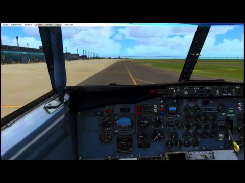 P3DV4] Revisited: Milviz Boeing 737-200 (ENGLISH) - смотреть онлайн