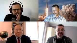 Astropolityka – kosmos w grze mocarstw | Debata: M. Czajkowski, K. Muzyka, M. Gawroński, L. Sykulski