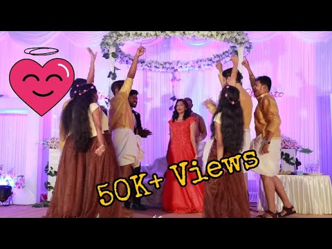 Christo ❤ Chinchu | Best Surprise dance by cousins | Betrothal dance