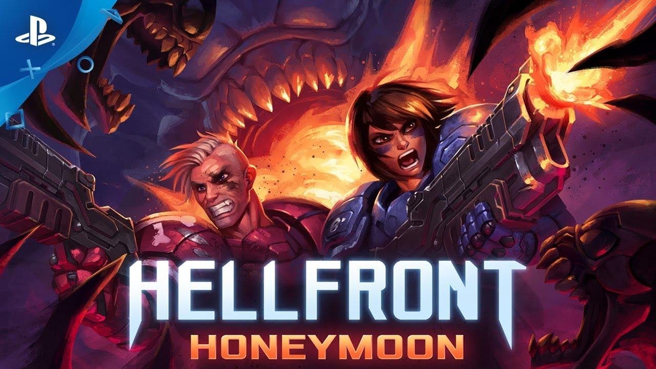 O Jogo de Tiro Hellfront: Honeymoon Chega para PS4 em 19 de Dezembro