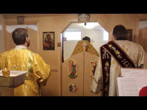 Служба в церкви в иркутске