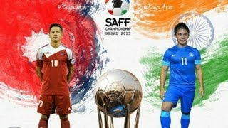 preview picture of video 'Nepal 2nd goal to india'