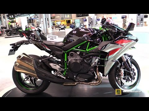 2015 Kawasaki Ninja H2 Super Charged - Walkaround - 2014 New York Motorcycle Show