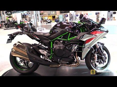 2015 Kawasaki Ninja H2 Super Charged - Walkaround - 2014 New York Motorcycle Show