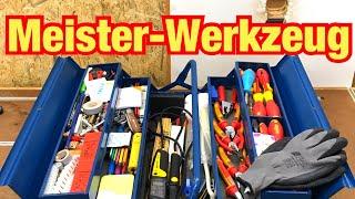 Dieses Werkzeug brauchst du! Werkzeug für Elektriker! Gefährliches Werkzeug! Proofwood
