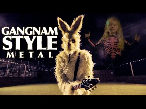gangnam style metal cover by leo moracchioli