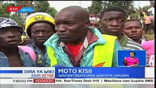 Wafanyibiashara Kisii wapoteza milioni ya pesa baada ya tukio la moto kuteketeza vibanda