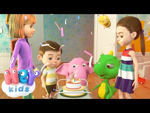 Download Happy Birthday Song for Children - HeyKids HD Mp4 3GP Video and MP3