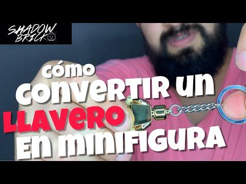LEGO /// COMO CONVERTIR UN LLAVERO EN MINIFIGURA/// ESPAÑOL HD