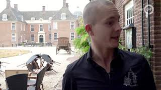 Wolkbreuk zet kasteel Doetinchem onder water