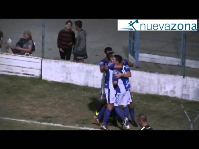 El gol de Sergio Simon para VFBC 1-Belgrano 0