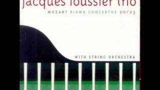 Jacques Loussier - Mozart piano concerto K466 n°20 - Romance (2nd mvt)