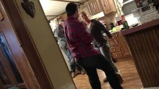 Brothers fight broken up by Mom and a spoon on Christmas Day