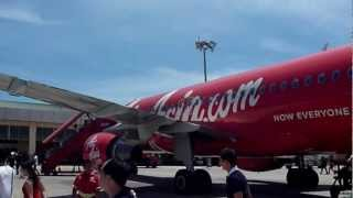 preview picture of video 'Kota Kinabalu International Airport Terminal 2 (Airasia)'