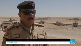 Les forces irakiennes se rapprochent de l''un des derniers fiefs de l''EI