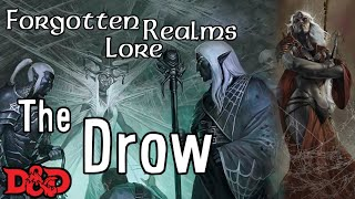 Forgotten Realms Lore - The Drow (Dark Elves Of D&D)