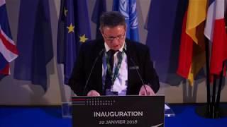 Inauguration du musée Guerre et Paix en Ardennes