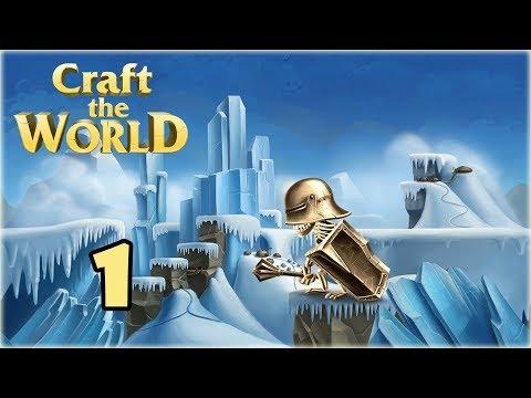 Прохождение Craft The World { Второй Мир } -1- Лед и мохнатики