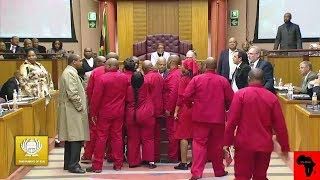 WATCH IT ALL - EFF MP's threaten Pravin Gordhan during Debate on Vote 9: Public Enterprises in Parliament  MY AFRICA welcomes all comments that are constructive, contribute to discussions in a meaningful manner and take stories forward. However, we will NOT condone the following: - Racism (including offensive comments based on ethnicity and nationality) - Sexism - Homophobia - Religious intolerance - Cyber bullying - Hate speech - Derogatory language - Comments inciting violence. We strive to make the YouTube (MY AFRICA) community a safe and welcoming space for all.