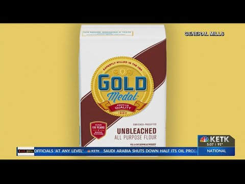General Mills recalls 600,000 pounds of flour due to E. coli risk