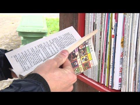 Em Friburgo, projeto de incentivo à leitura em pontos de ônibus faz sucesso