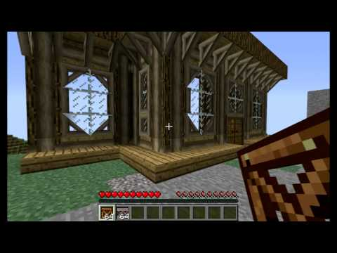 1 2 3 Kaevator Timber Framing Minecraft Mod