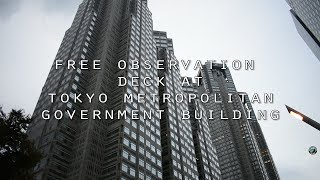 Tokyo Metropolitan Government Building observation room, Tokyo