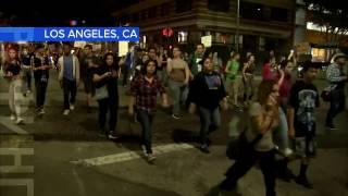 В больших городах США вспыхнули протесты