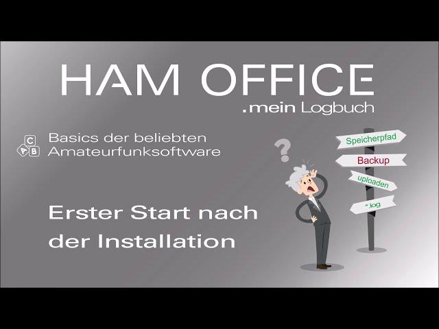 Youtube-Startbild zu HAM OFFICE Basics: Der erste Programmstart nach der Installation