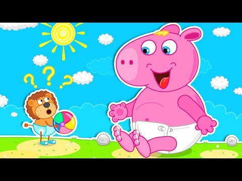 Lion Family 🐖 New Friend Cartoon for Kids