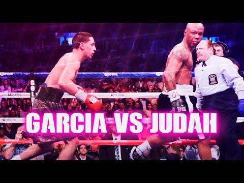 Danny Garcia vs Zab Judah (Highlights)