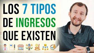 Video: Los 7 Tipos De Ingresos Que Existen