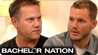 Cassie's Dad Refuse To Give His Blessing To Colton | The Bachelor US