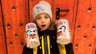 Дети нашли ЛОЛ сюрпризы в ДОМЕ LOL Surprise Dolls Куклы с длинными волосами