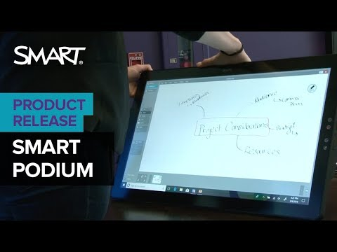 Getting to know your SMART Podium™ 624 and 624 Pro (2019)