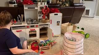 Hape All-in-One Kitchen, Fridge | Play Food & Kitchen | Felt & Wood Play Food