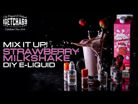 Video MIX IT UP! DIY STRAWBERRY MILKSHAKE E-LIQUID TUTORIAL