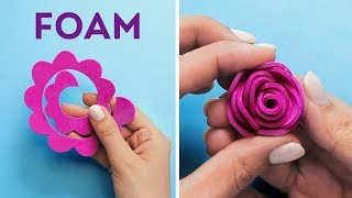 14 CUTE ROOM DECOR DIYS WITH FOAM