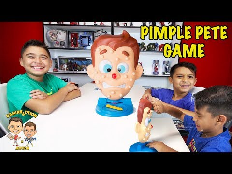 PIMPLE PETE GAME | PIMPLE POPS | KADUNKS & FIDGET POPS