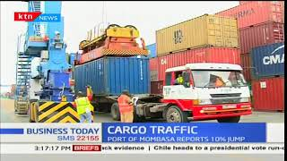 Cargo traffic: Port of Mombasa reports 10% jump