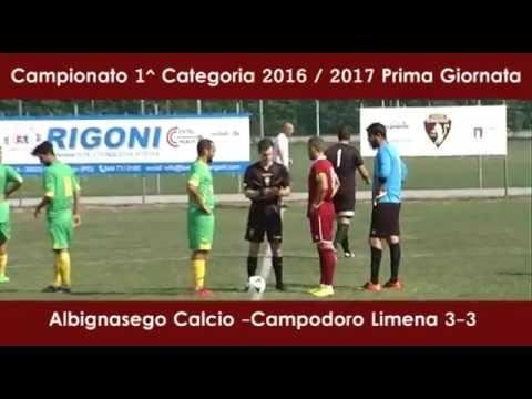 Preview video ALBIGNASEGO-CAMPODORO 3-3 (11.09.2016)